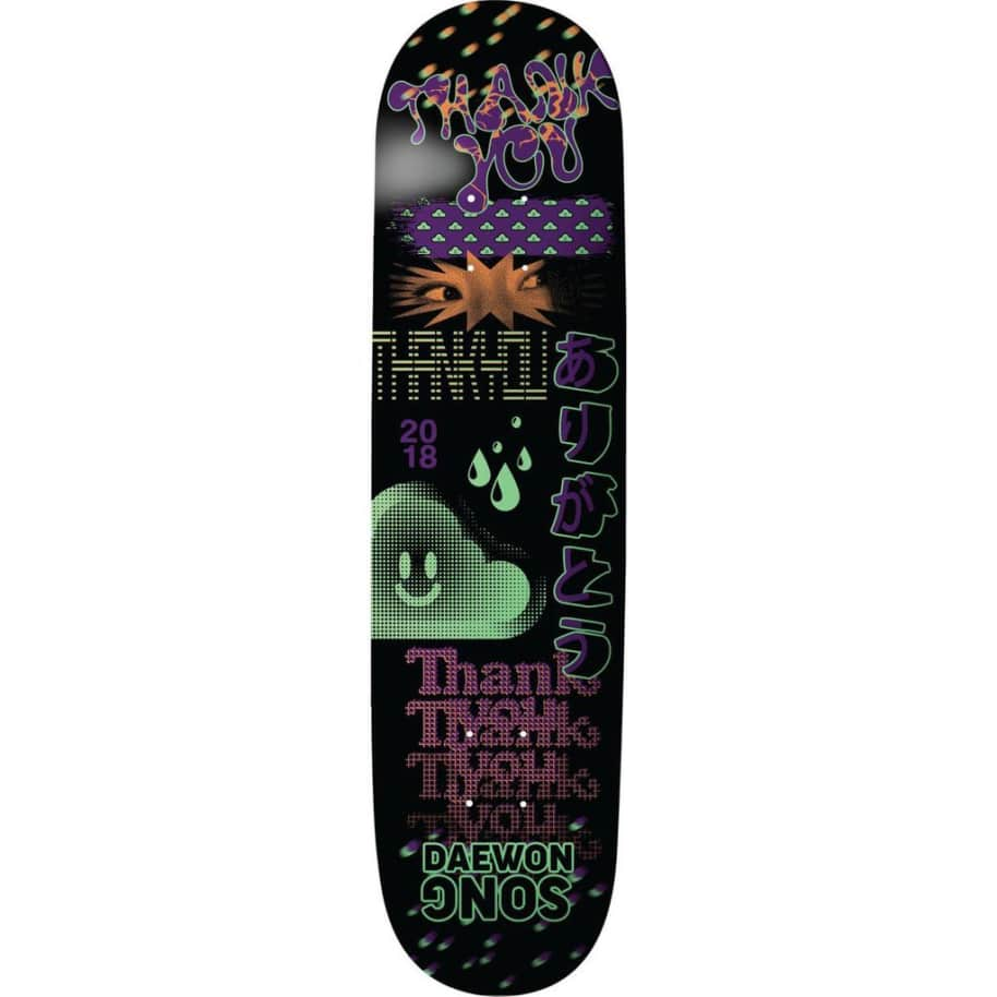 """Thank You - Daewon Song Fly Deck (8.25"""") 
