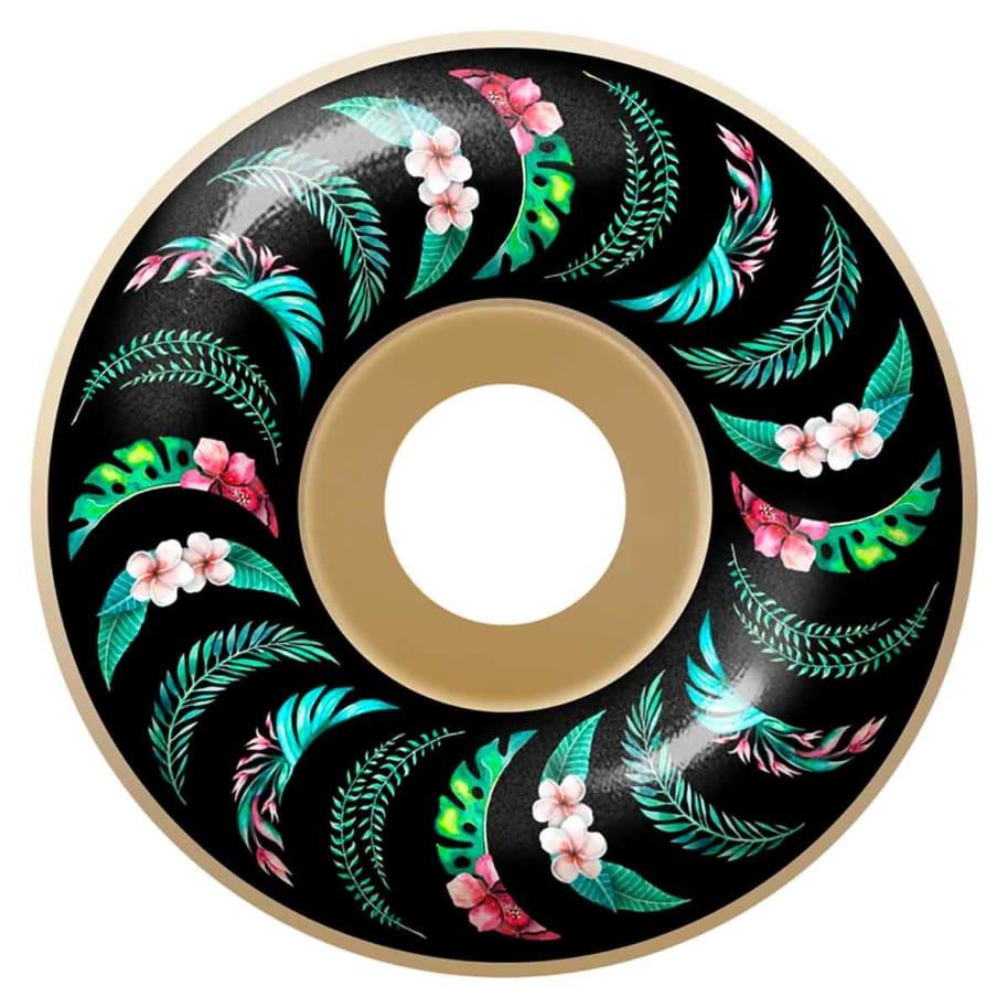 Spitfire F4 99 Floral Swirl Classic Wheels | Wheels by Spitfire Wheels 1