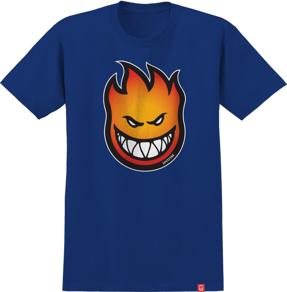 SPITFIRE Youth Bighead Fade Tee Royal | T-Shirt by Spitfire Wheels 1