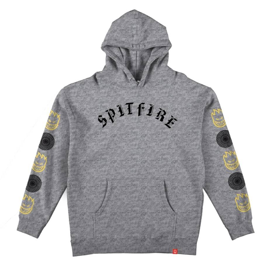 Spitfire Old E Combo Sleeve hood | Hoodie by Spitfire Wheels 1