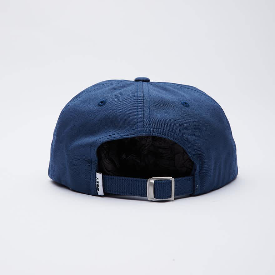 OBEY Icon Face 6 Panel Hat - Dull Blue | Baseball Cap by OBEY Clothing 2