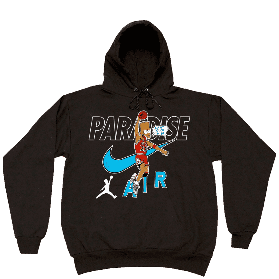 Paradise.NYC Can't Touch This Hoodie - Black | Hoodie by Paradise.NYC 1