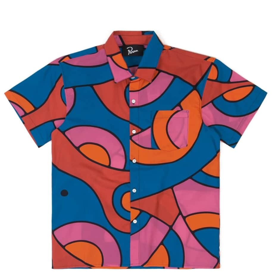 by Parra Serpent Pattern Short Sleeve Shirt - Multi | Shirt by by Parra 1