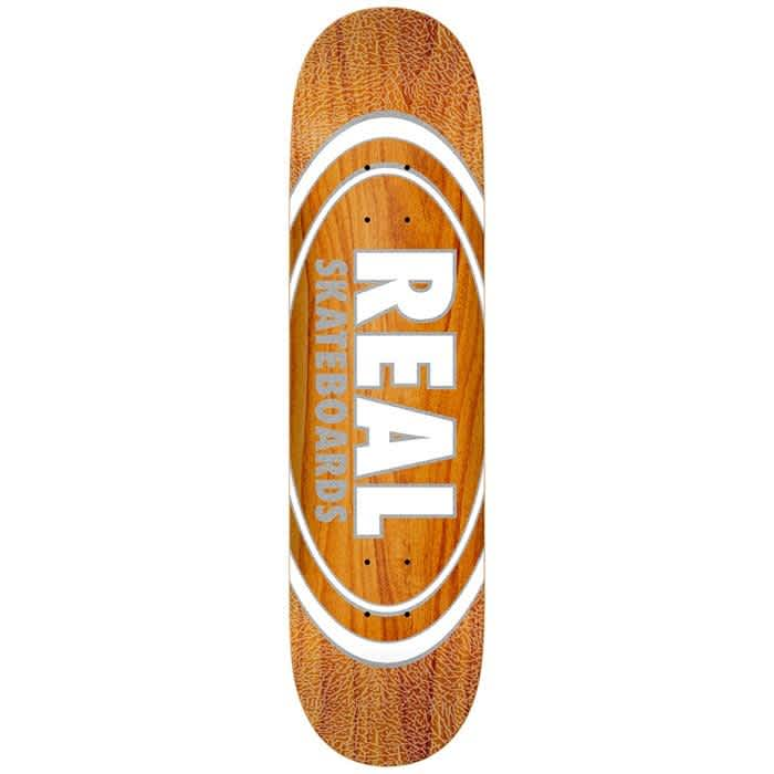 """Real Oval Pearl Patterns Deck 8.875"""" 