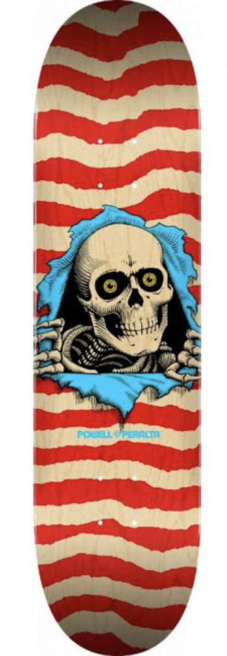 Powell Peralta Ripper Deck - Natural/Red 8.5   Deck by Powell Peralta 1