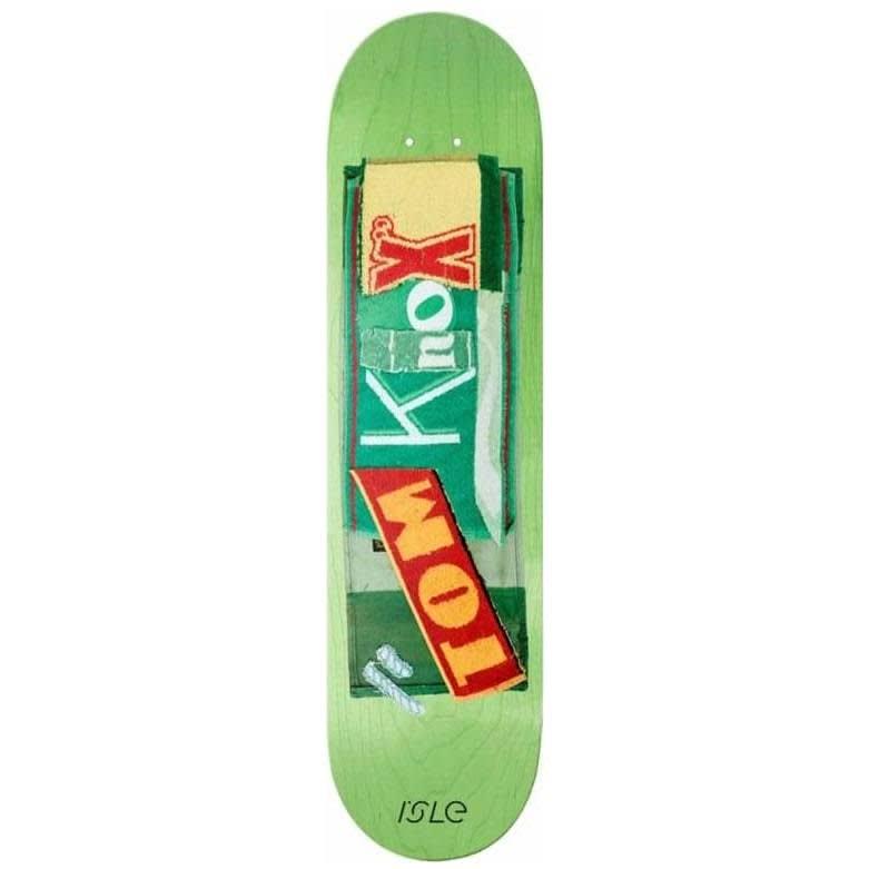 "Isle Tom Knox Pub Series Skateboard Deck - 8.375""   Deck by Isle Skateboards 1"