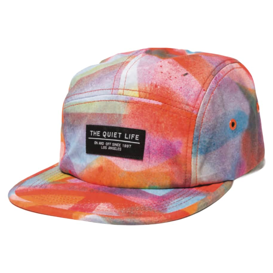 The Quiet Life Farley 5 Panel Camper Hat - Orange | Baseball Cap by The Quiet Life 1