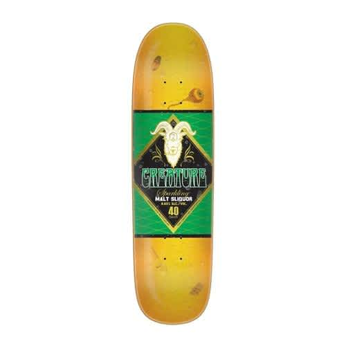 CREATURE MALT SLIQUOR MD EVERSLICK DECK - 8.6 | Deck by Creature Skateboards 1