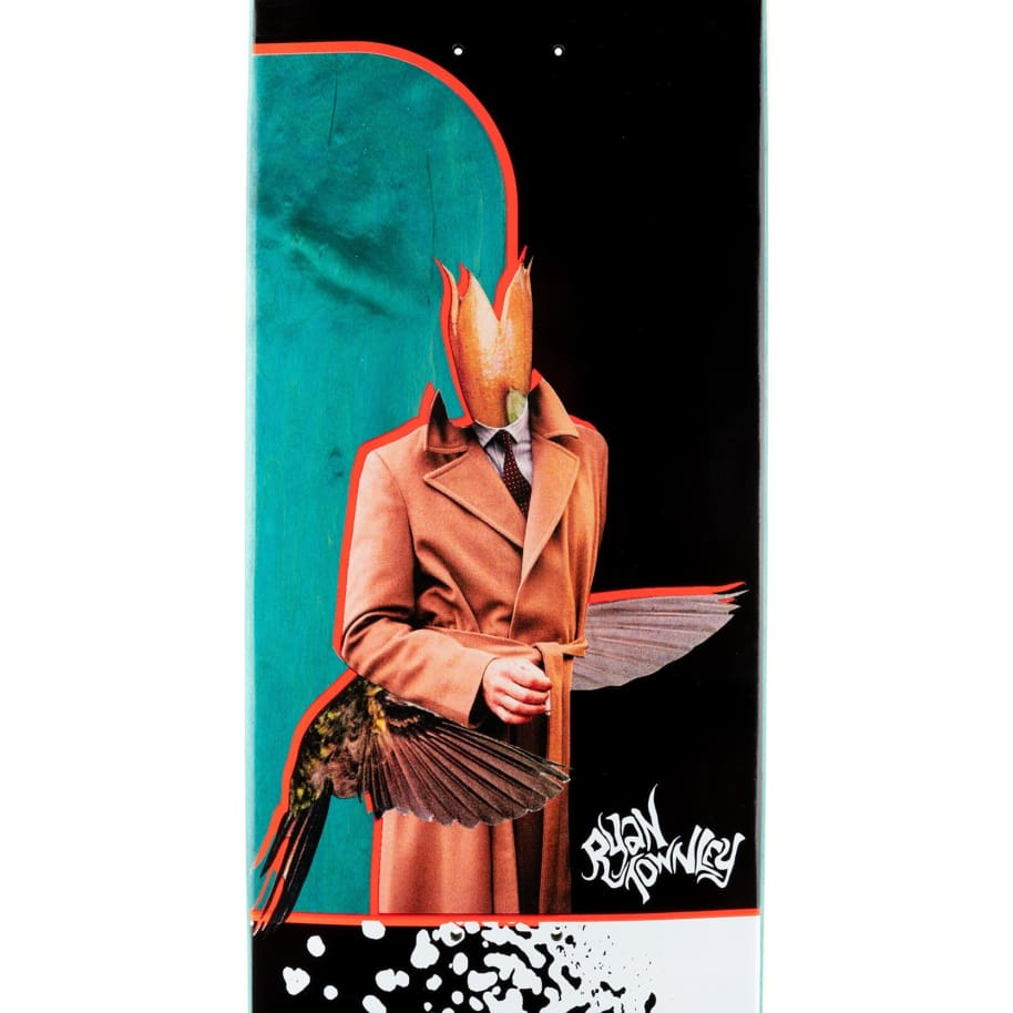 """Welcome Hummingbird - Ryan Townley Pro Model Deck - 8.5""""   Deck by Welcome Skateboards 3"""