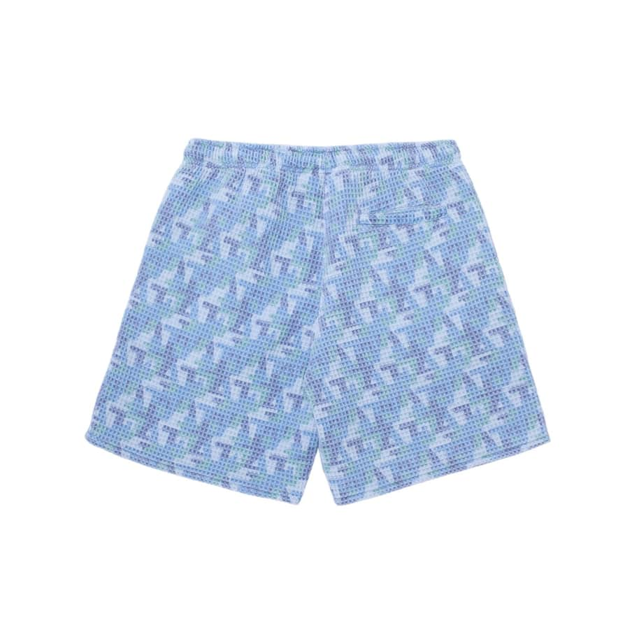 Fucking Awesome Shorts Baggie Waffle - Blue | Shorts by Fucking Awesome 6