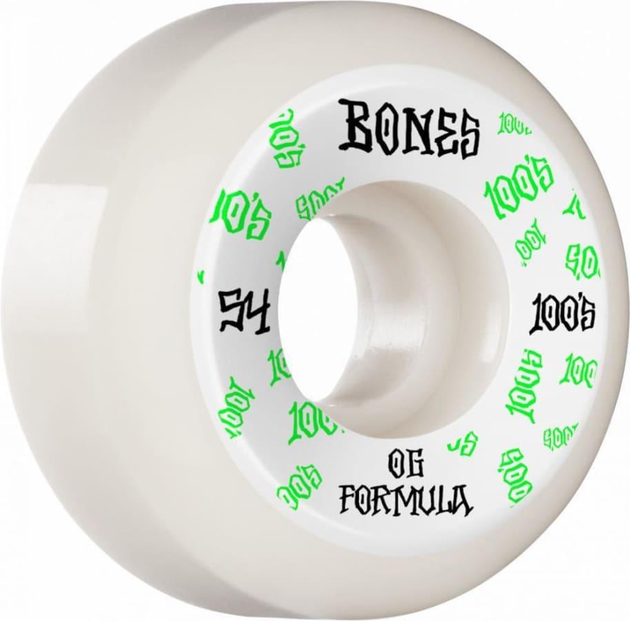 Bones Wheels 100's V5 #3 Sidecut Skateboard Wheels - 54MM   Wheels by BONES 1