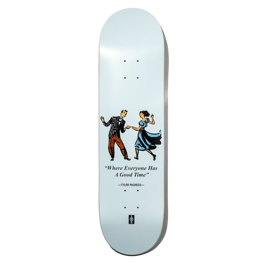 GIRL Pacheco Good Times Deck 8.375 | Deck by Girl Skateboards 1