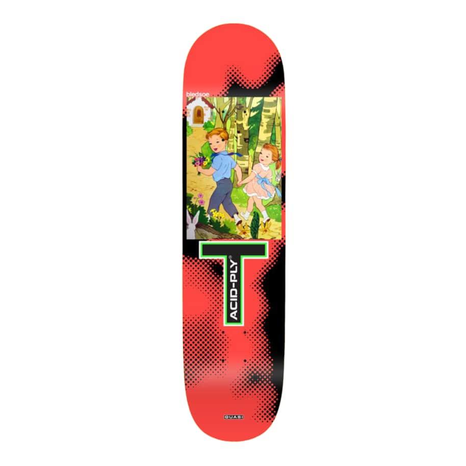 "Quasi skateboards -Bledsoe ""Moonwalk"" Deck - 8.375""   Deck by Quasi Skateboards 1"