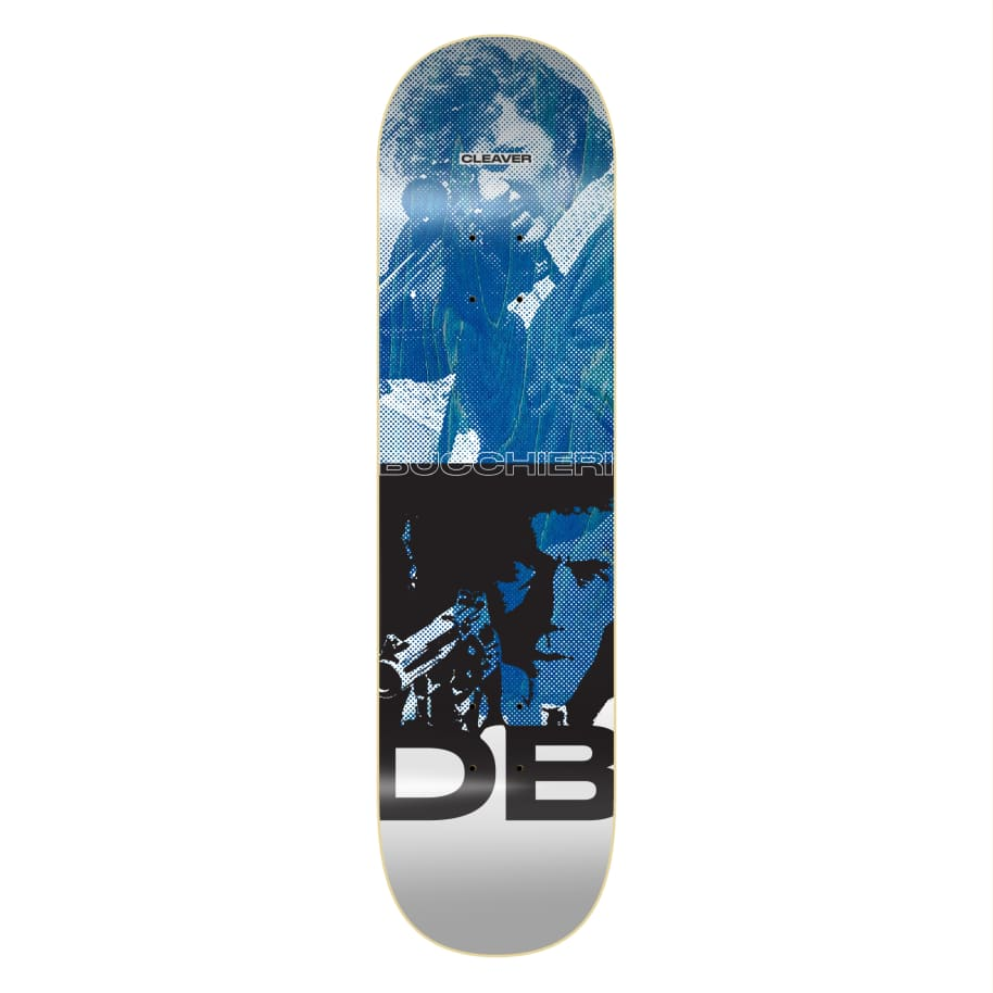 "Cleaver Skateboards - 8.25"" Bucchieri Harry Deck - Blue 