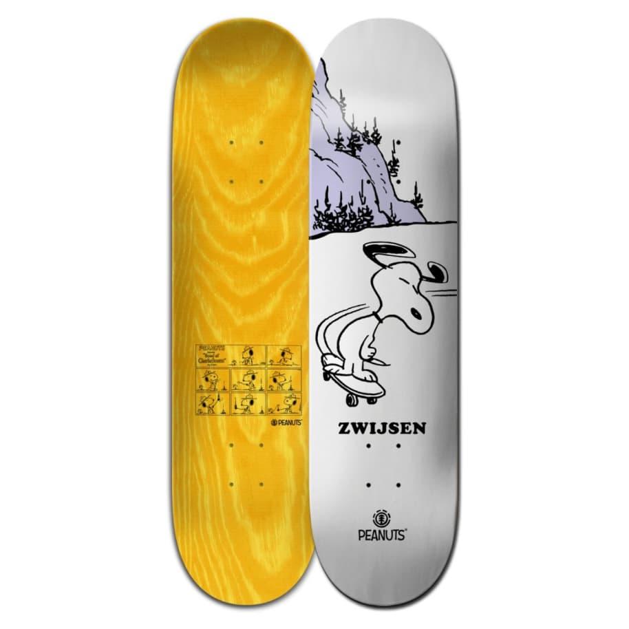 Element Skateboards Peanuts Snoopy Phil Zwijsen Skateboard Deck - 8.125   Deck by Element 1