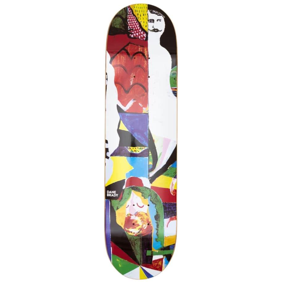 """Polar Skate Co Dane Brady Memory Palace Skateboard Deck - 8.125""""   Deck by Polar Skate Co 1"""
