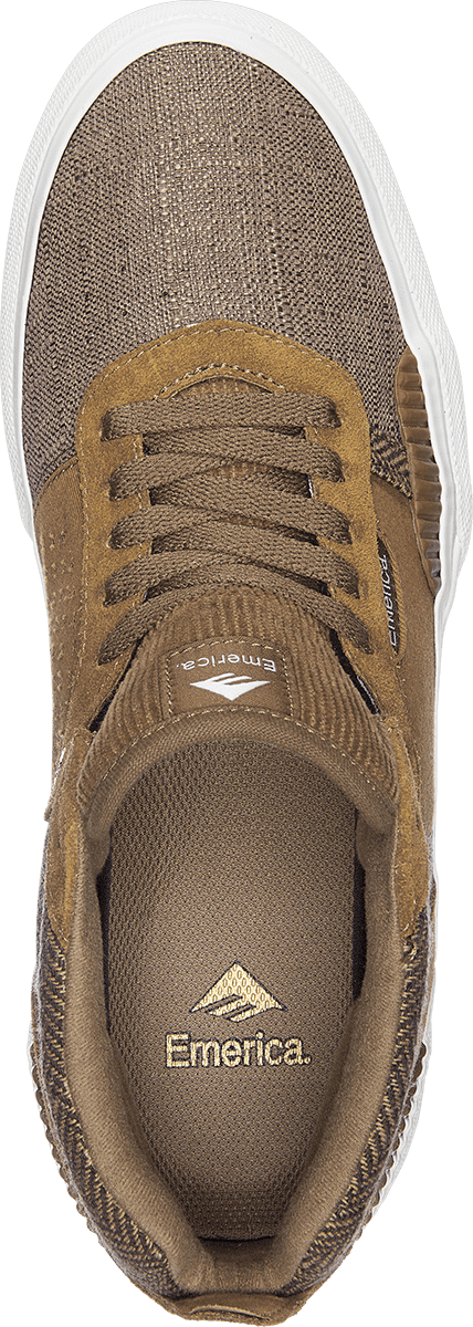 Emerica Pillar Skate Shoes - Brown | Shoes by Emerica 3