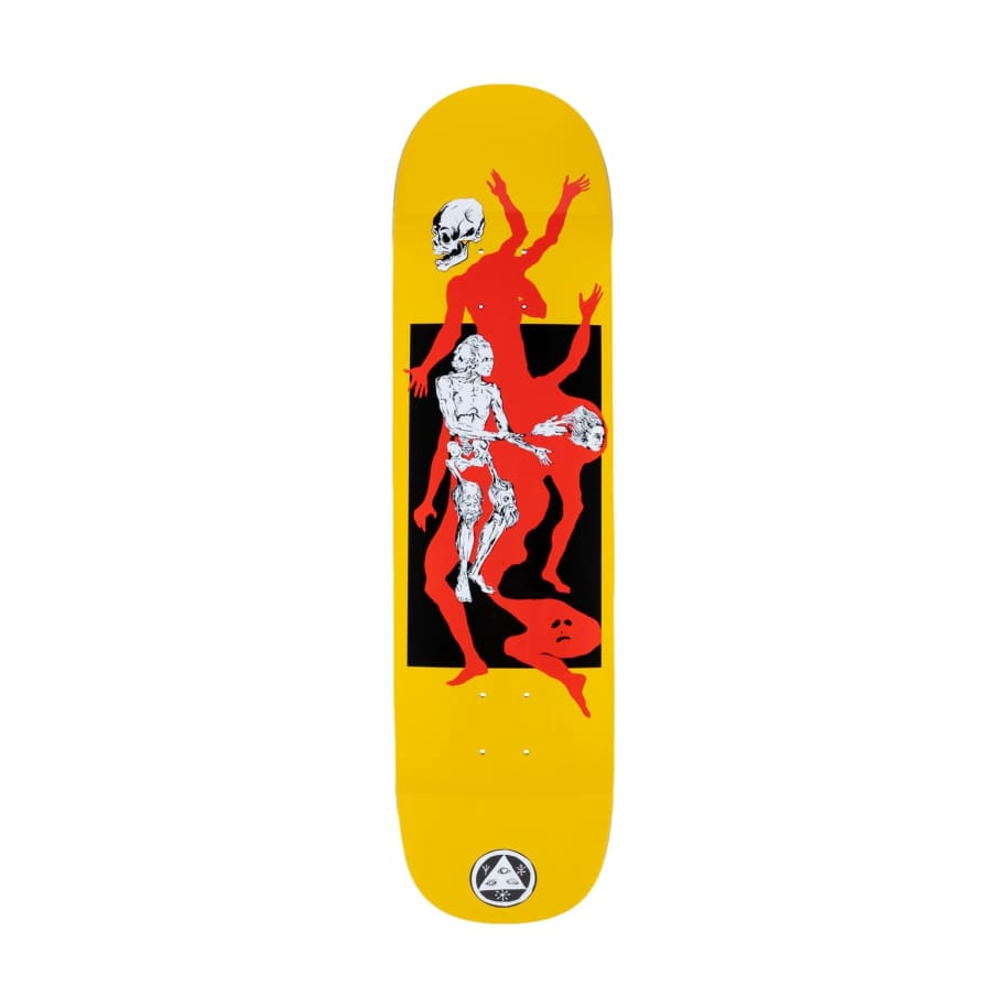 Welcome Magician on Big Bunyip Yellow 8.5   Deck by Welcome Skateboards 1