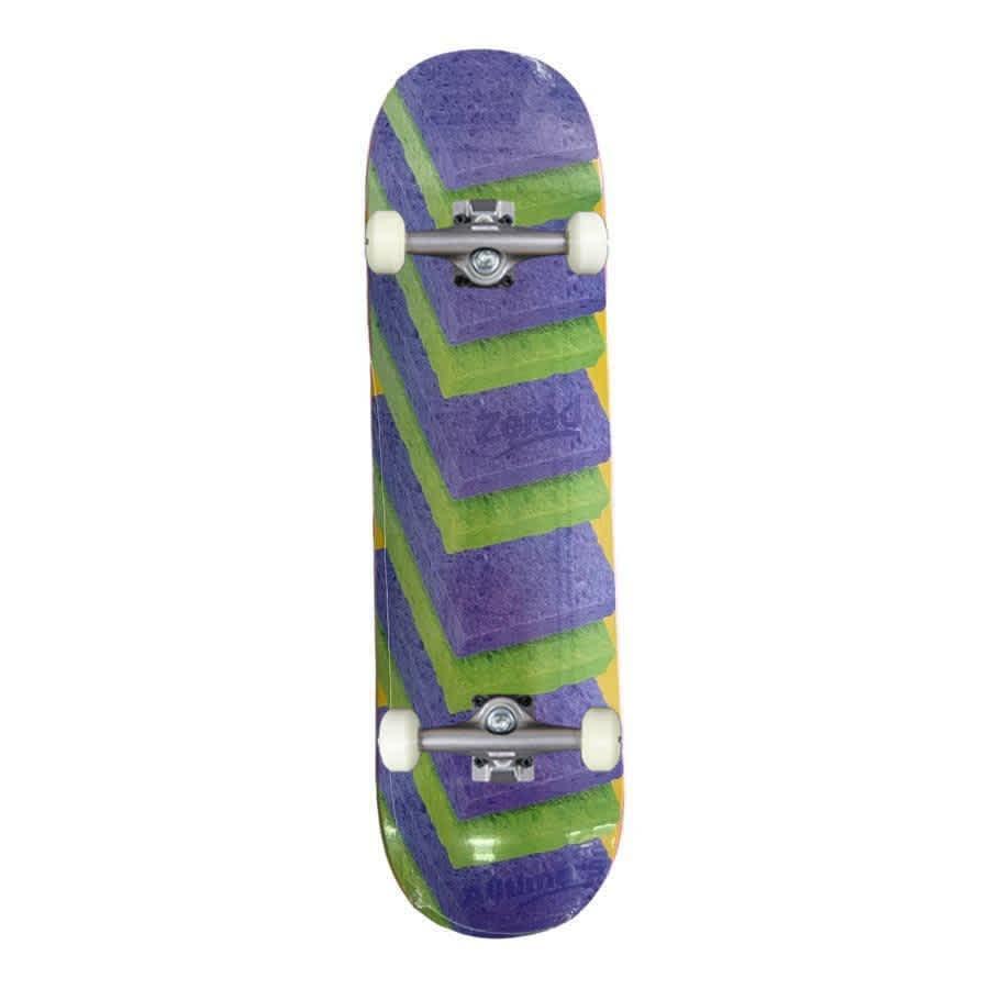 "Alltimers 'Clean Up' Zered Bassett Complete Skateboard 8.3"" | Complete Skateboard by Alltimers 1"