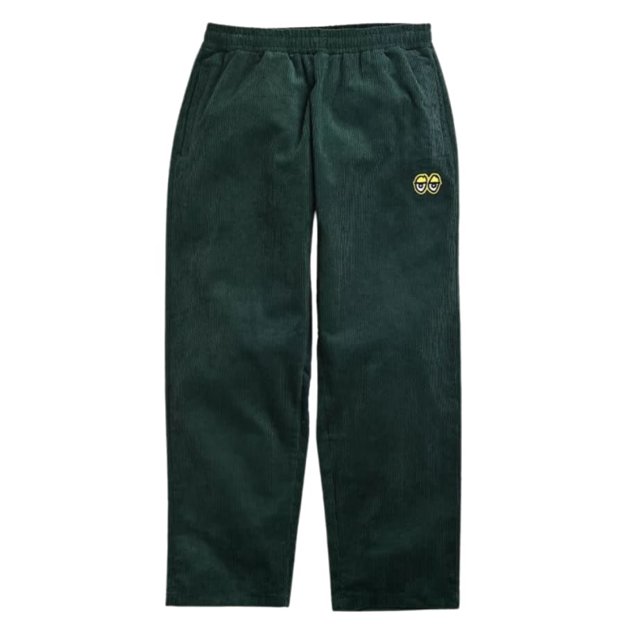 KROOKED EYES CORDUROY PANT | Trousers by Krooked Skateboards 1