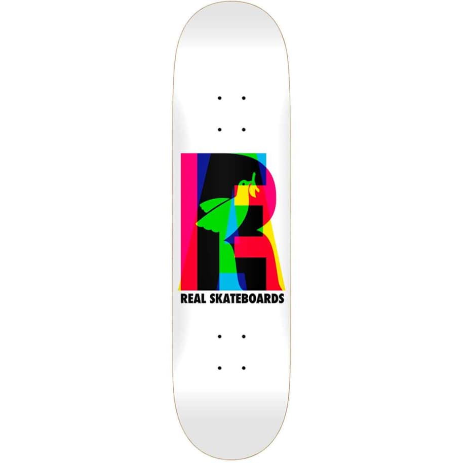 Real Eclipsing White Deck | Deck by Real Skateboards 1