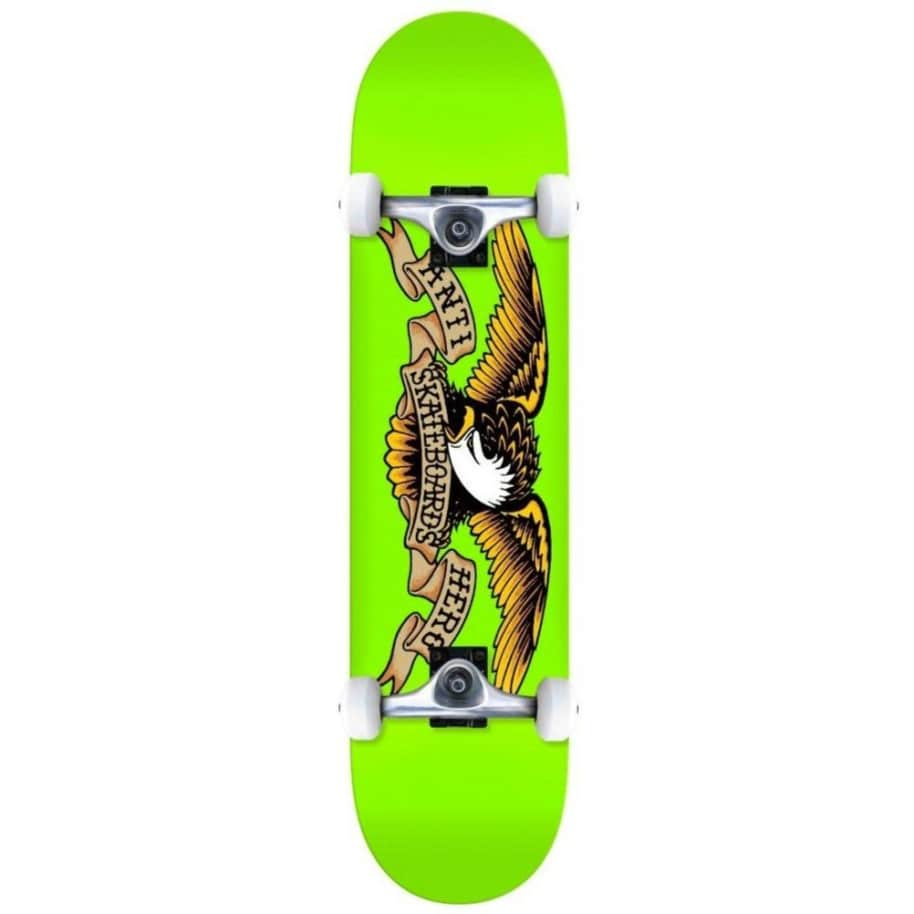 Antihero Skateboards - Anti Hero Classic Eagle Complete Skateboard Green | 8"