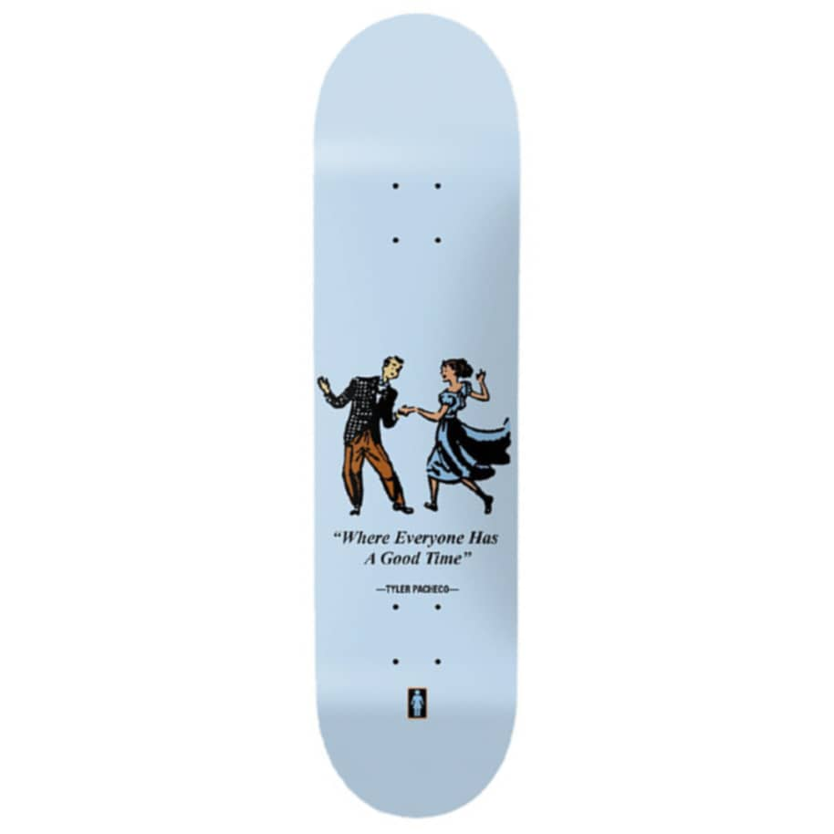 PACHECO GOOD TIMES | Deck by Girl Skateboards 1