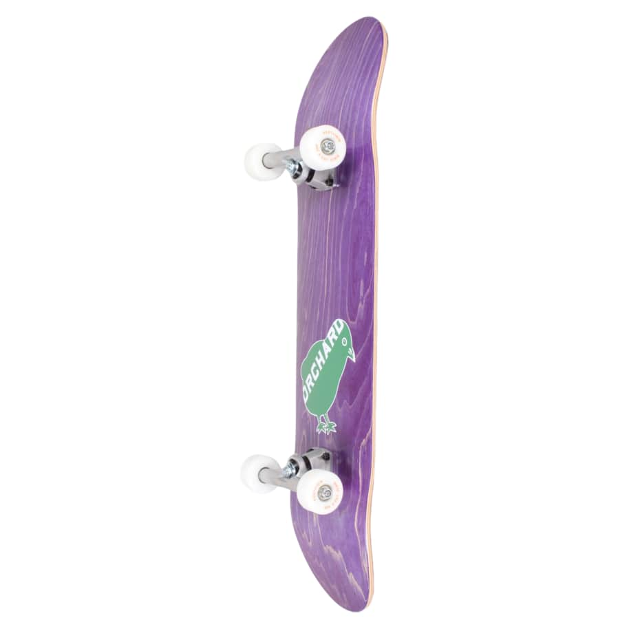 Orchard Green Bird Logo Hybrid Complete 7.8 Purple (With Free Skate Tool) | Complete Skateboard by Orchard 2