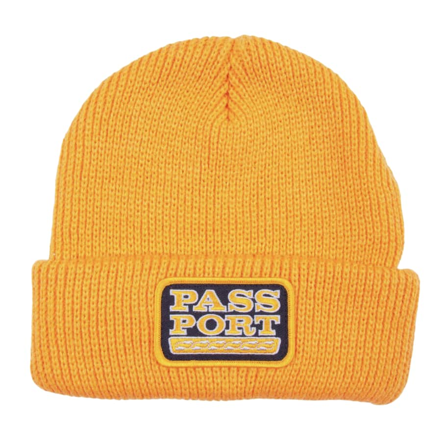 Pass~PortAuto Patch Beanie - Gold | Beanie by Pass~Port Skateboards 1