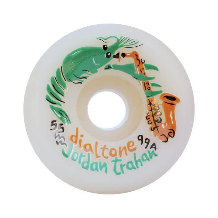 Dial Tone Trahan Zydeco Conical Skateboard Wheels - 99A 55mm | Wheels by Dial Tone Wheel Co. 1