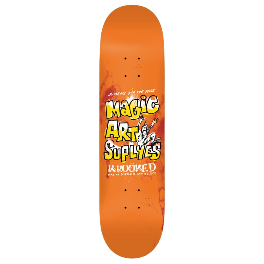 """Krooked - 8.38"""" Magic Art Supplyes 