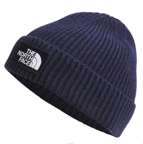 The North Face Box Logo Beanie | Navy | Beanie by The North Face 1