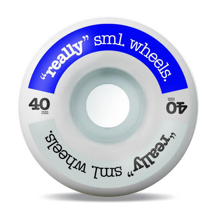sml. Really sml. Midnight and Silver Skateboard Wheels - 40mm | Wheels by Sml Wheels 1