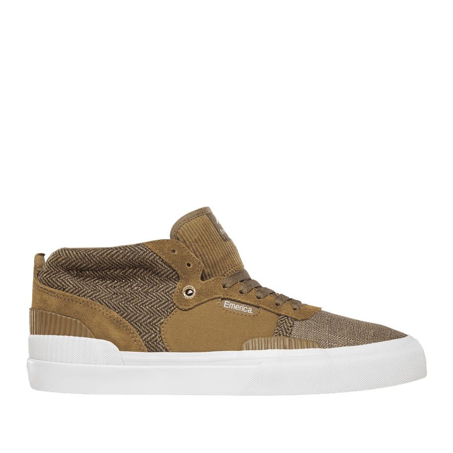 Emerica Pillar Skate Shoes - Brown | Shoes by Emerica 1