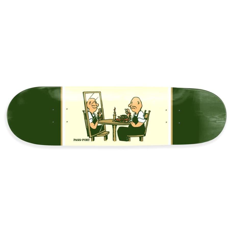 "Pass Port - Dinner For One Deck (8.38"")   Deck by Pass~Port Skateboards 1"