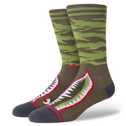 STANCE WARBIRD SOCK - OLIVE | Socks by Stance Socks 1