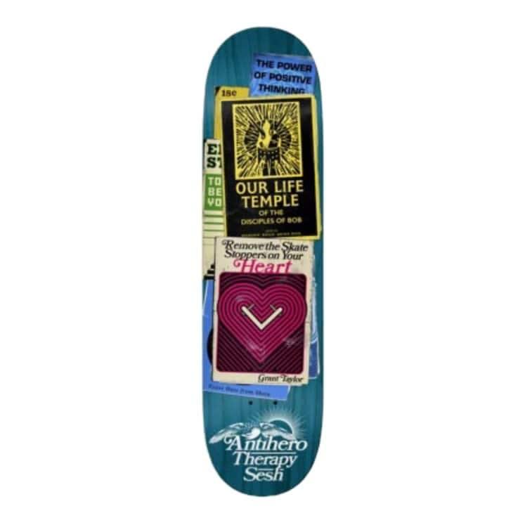 Anti Hero Taylor Therapy 8.38 | Deck by Antihero Skateboards 1