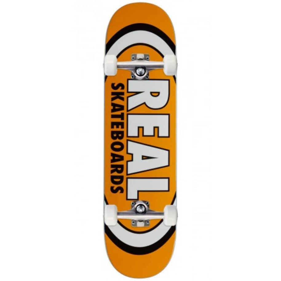TEAM EDITION OVAL MD | Complete Skateboard by Real Skateboards 1