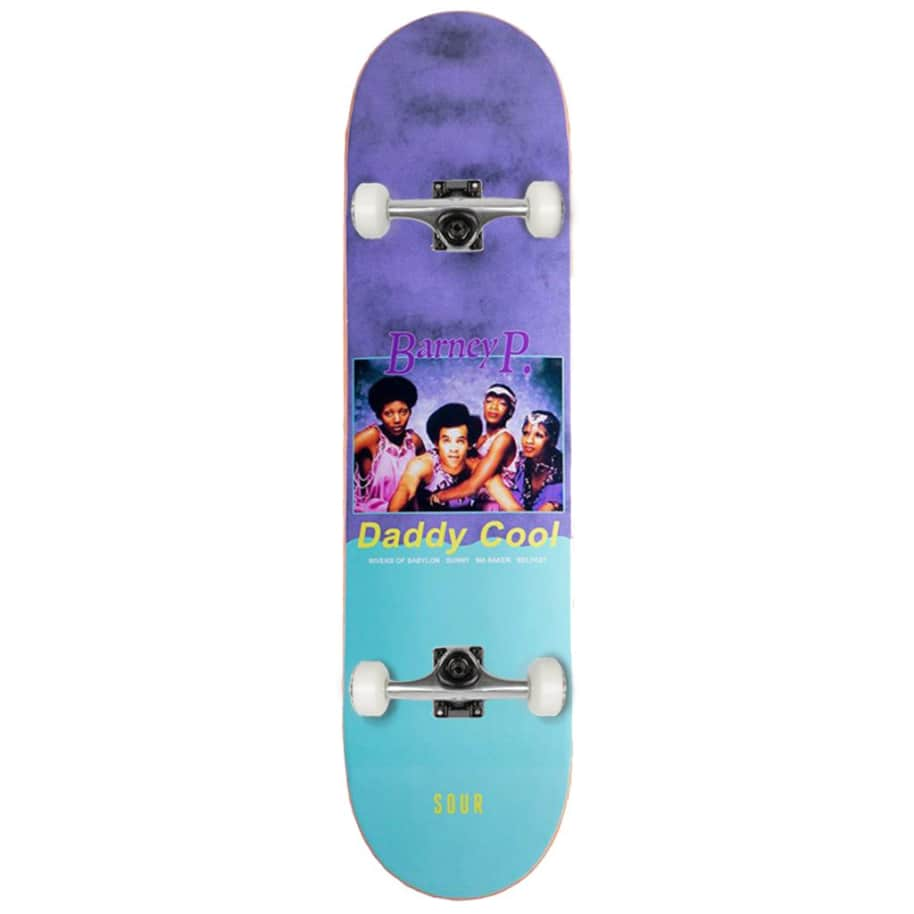 Sour Solution - Barney- Barney P - Complete Skateboard - 8.25"