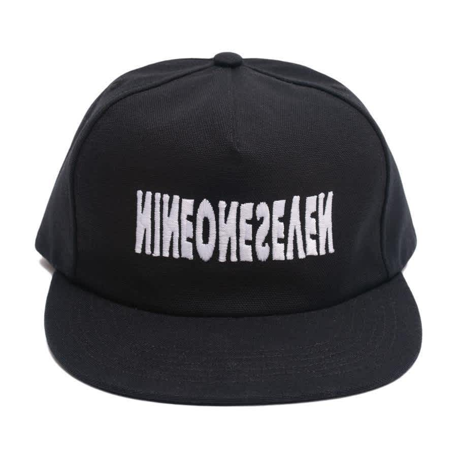 Call Me 917 Cyber Logotype Hat - Black | Snapback Cap by Call Me 917 2