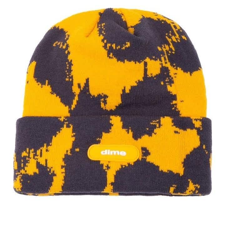 Dime Sly Beanie - Yellow | Beanie by Dime 1