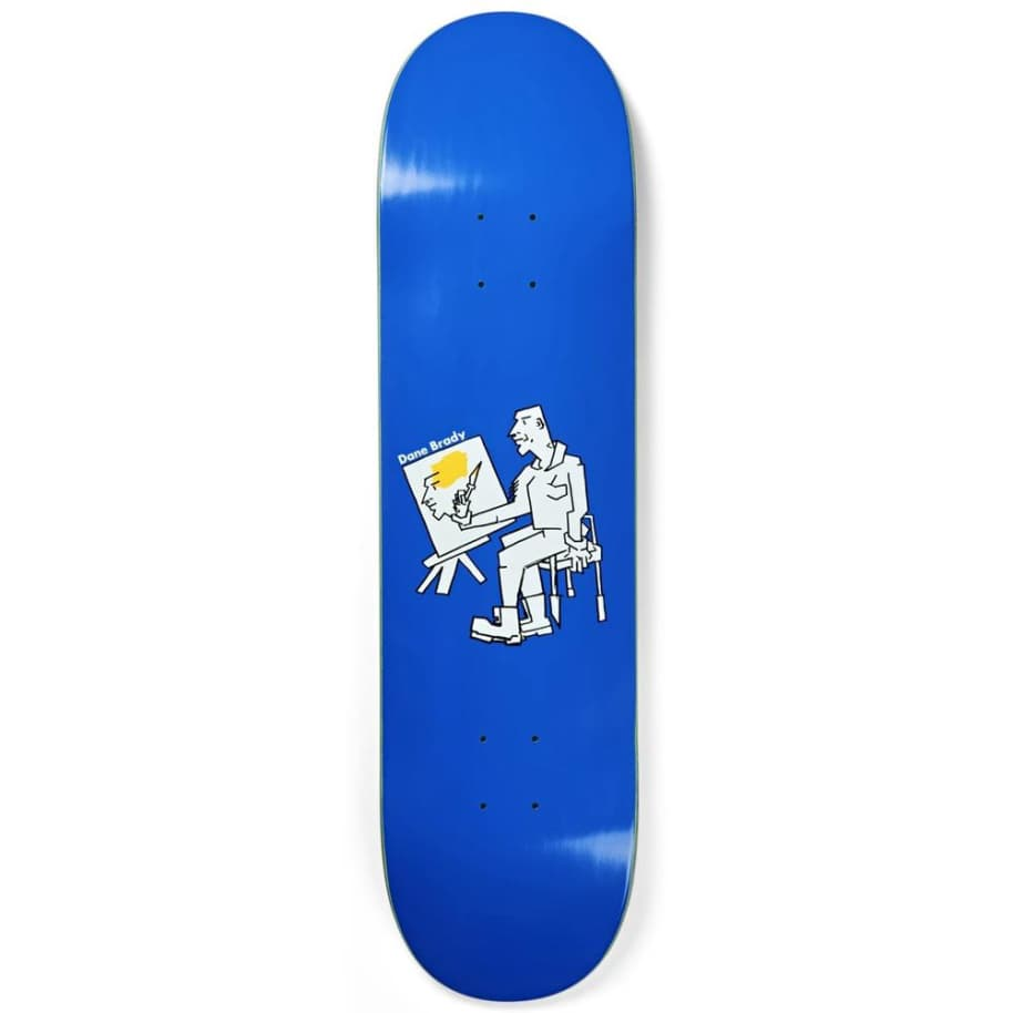 Polar Skate Co. Dane Brady Painter Skateboard Deck - 8.375"