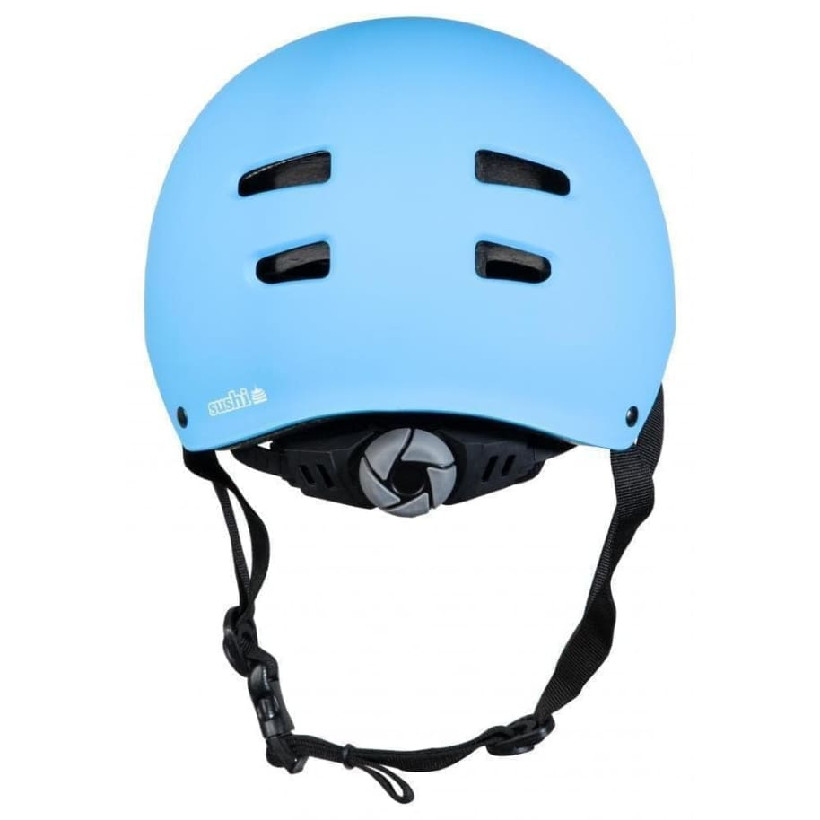 Sushi Skateboard Helmet Size Adjuster: Lock-In System Matte Blue S/M | Helmet by Sushi Hardware 2