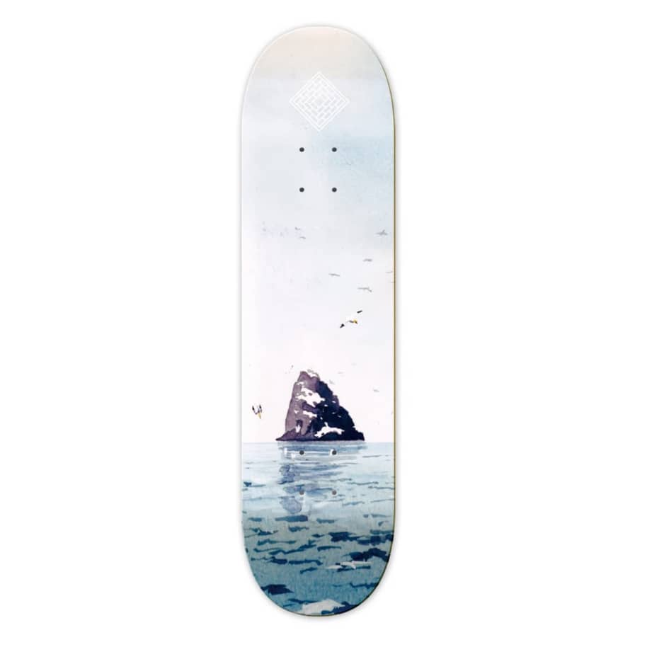 """The National Skateboard Co. Rock High Concave Deck 8.5""""   Deck by The National Skateboard Co. 1"""