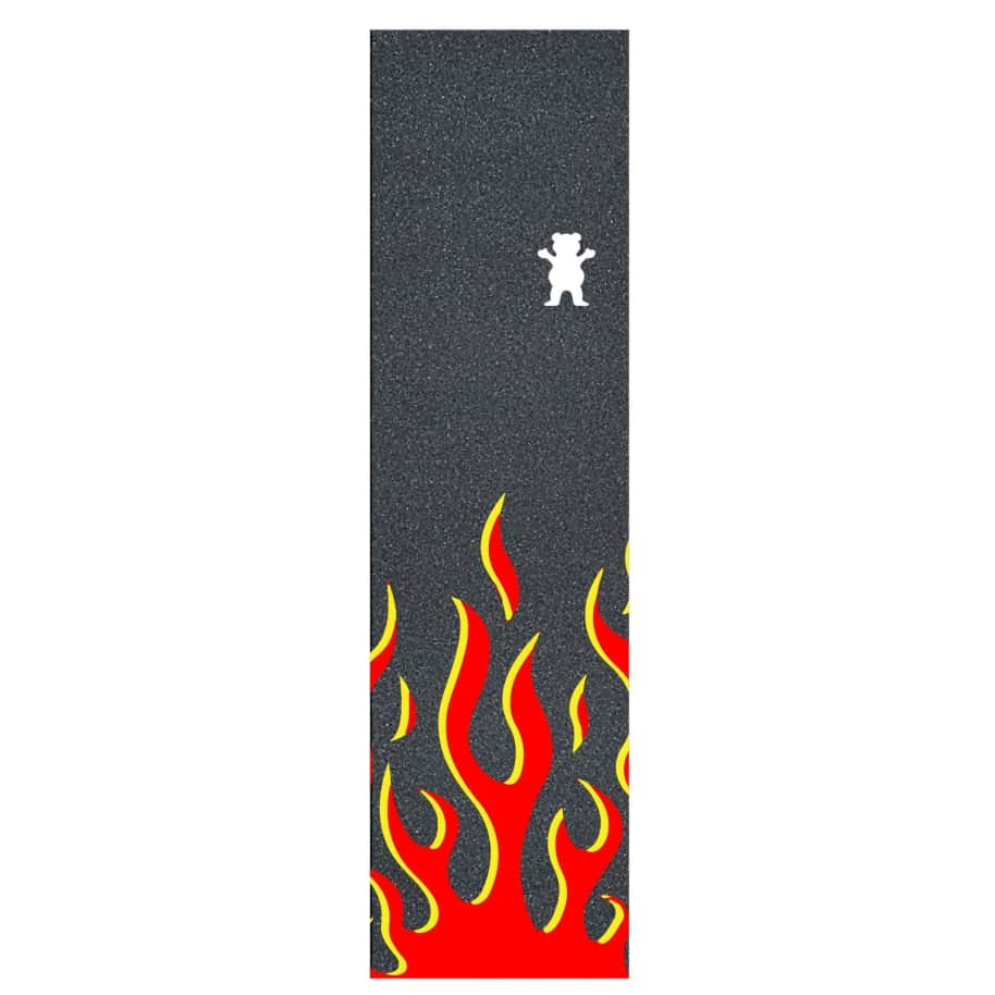 Grizzly Farrenheit Griptape Red   Griptape by Grizzly Griptape 1