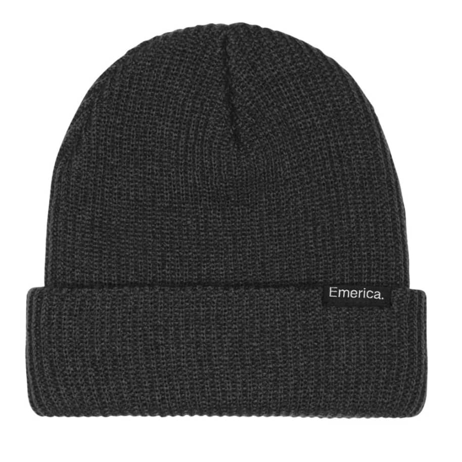 Emerica Clamp Beanie - Black | Beanie by Emerica 1