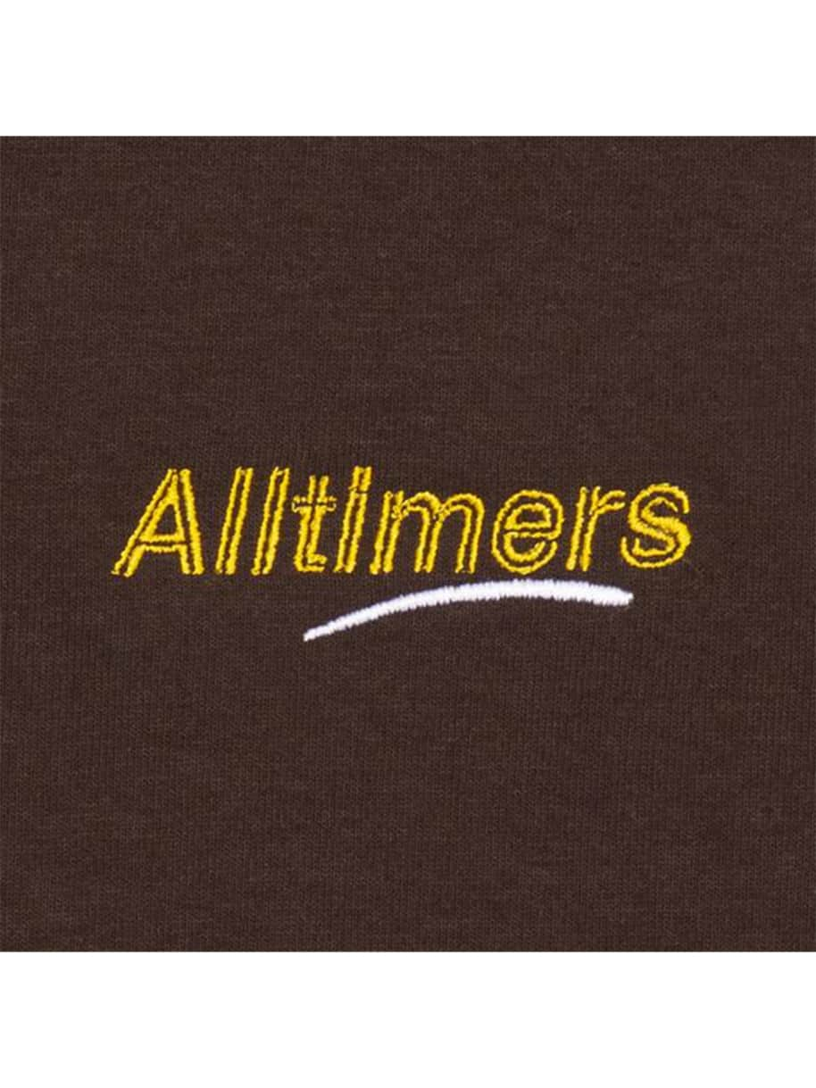 Alltimers Embroidered Estate T-Shirt - Brown | T-Shirt by Alltimers 2