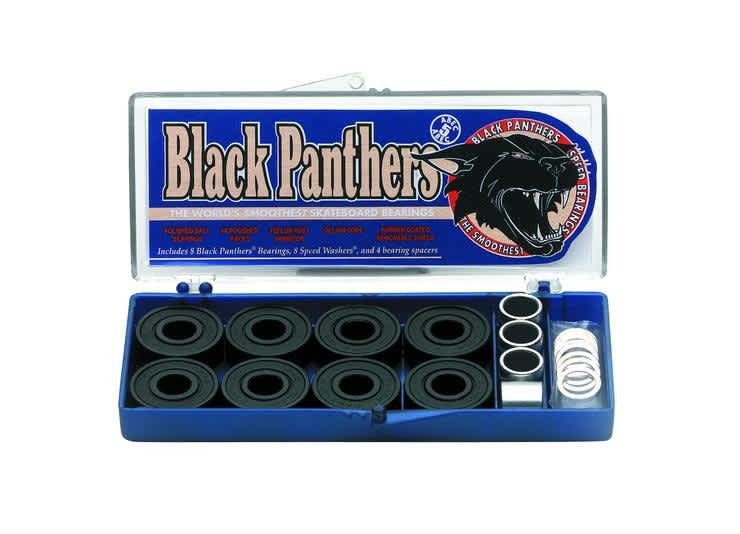Shorty's Black Panthers Abec 5 Bearings   Bearings by Shorty's 1