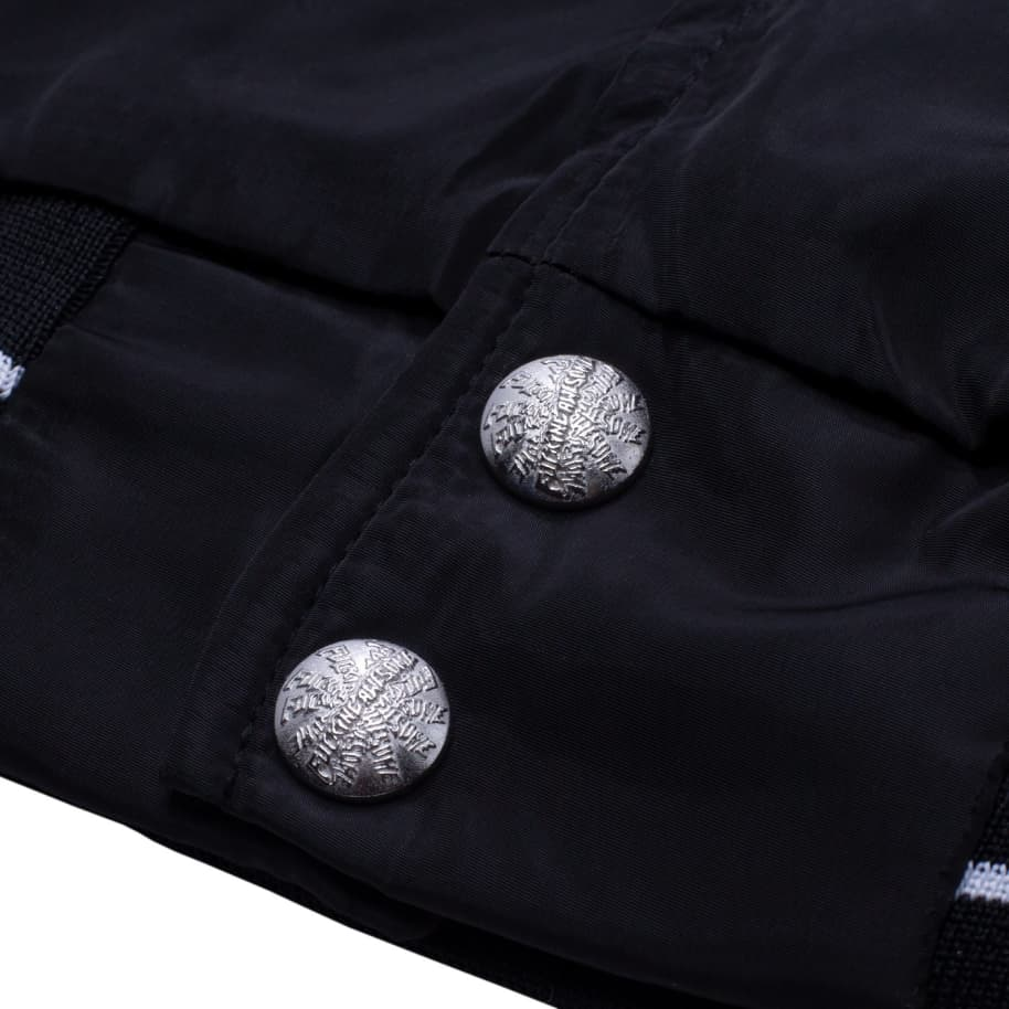 Fucking Awesome Okayama Bomber Jacket - Black / Heather Grey | Jacket by Fucking Awesome 5