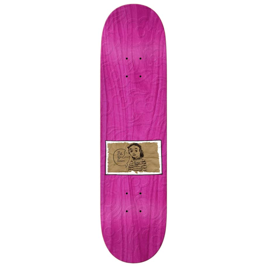 """Krooked - Sebo Dried Out Embossed Deck (8.06"""") 